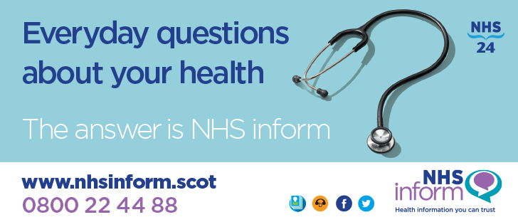 NHS inform flyer
