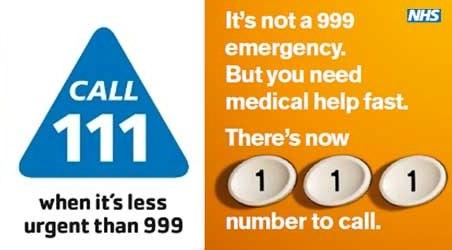 NHS24 on 111